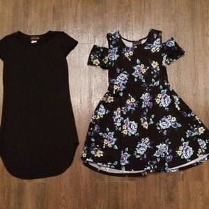 Lot of 2 girls dresses size 10/12 on both